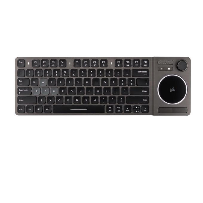 CORSAIR 美商海盗船 K83 Wireless 无线多媒体键盘