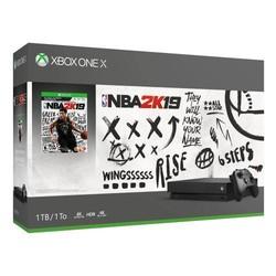Microsoft 微软 Xbox One X 1TB 《NBA 2K19》同捆主机