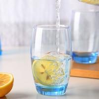 Luminarc 乐美雅 萨通凝彩冰蓝直身杯 350ML*2个