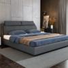 A家家具 DA0126 排骨架布艺床  1.5米
