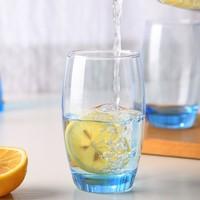 Luminarc 乐美雅杯子 无铅钢化玻璃杯 350ml 2只