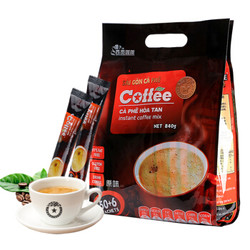 SAGOcoffee 西贡咖啡 三合一速溶原味咖啡冲饮 840g