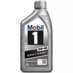 美孚(Mobil)美孚1号 全合成机油 5W-40 SN级 1L *6件