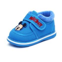 Disney 迪士尼 DH0203 婴幼童加绒学步鞋