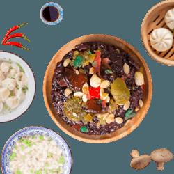 知味观八宝饭 猫耳朵 馄饨速冻食品组合杭州特色小吃速食早餐