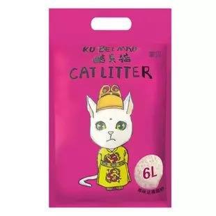 酷贝猫 大颗粒无尘豆腐猫砂 6L