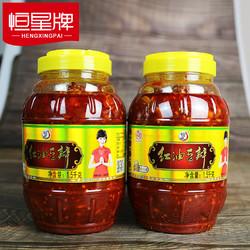 恒星牌郫县产豆瓣酱1.5kg*1瓶