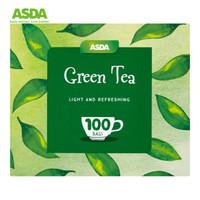 臨期品 : 艾斯達 ASDA Chosen By You 獨立茶包 綠茶袋泡茶 100袋