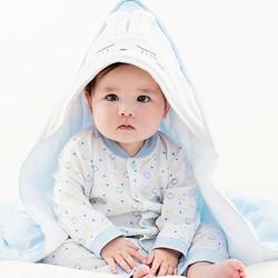 PurCotton 全棉时代 婴儿针织抱被 90x90cm 1条装 *2件