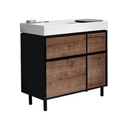 KOHLER 科勒 博纳 K-20020T-H14 905mm浴室家具-柏灵顿橡木(包含柜体、台面、铝合金支脚)