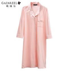 歌瑞尔甜美可爱性感睡裙时尚舒适可外穿女士睡衣家居服19067HD