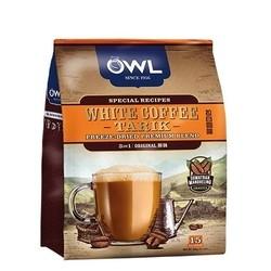 OWL 猫头鹰 三合一速溶白咖啡 原味 15包 600g *2件