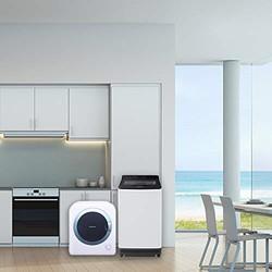 Panasonic 松下  XQB75-U7E2F洗衣机 +NH-202GT 烘干机 洗烘套装7kg+2kg