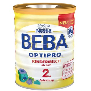 中亚Prime会员 : Nestlé BEBA 雀巢贝巴 OPTIPRO 婴幼儿奶粉 800g 3罐装