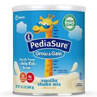 Abbott 雅培 小安素系列 儿童全营养配方奶粉 香草味 400g*6罐 (2-13岁)美版