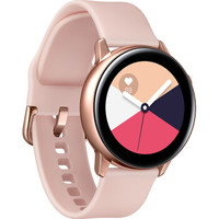 SAMSUNG 三星 Galaxy Watch Active 智能手表 粉金