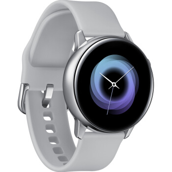 SAMSUNG 三星 Galaxy Watch Active 智能手表 雅银