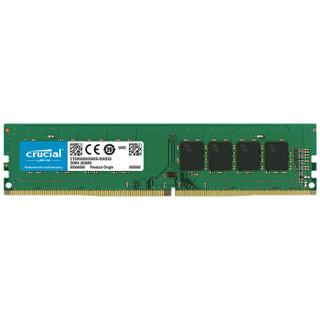crucial 英睿达 DDR4 2666 台式机内存 16GB