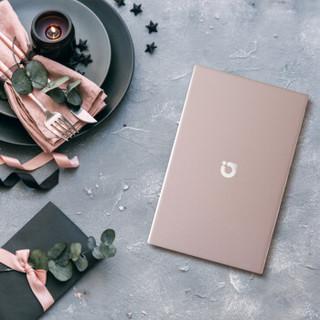 ASUS 华硕 轻薄笔记本电脑 (a豆、玫瑰金、13.3英寸、1920×1080、256GB SSD、4G、 i3-8145U)