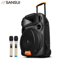 SANSUI 山水 MK15-15 蓝牙音箱 (黑色)