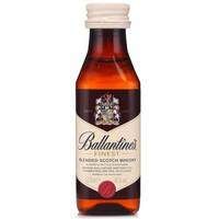 Ballantine's 百龄坛 特醇苏格兰威士忌 50ml (40度、40度、700ml)