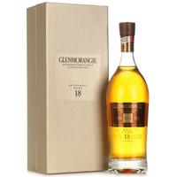 GLENMORANGIE 格兰杰  18年高地单一麦芽苏格兰威士忌 700ml