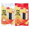 韩国进口 九日(JIUR)鲜鱼脆海苔条 散装鱼脆片 休闲零食 沙拉酱味/ 香辣味 25g*2袋 19.9元