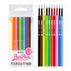 晨光(M&G)10色0.38mm中性笔替芯全针管笔头签字笔水笔芯 10支/包AGR66137 *15件 67.5元(合4.5元/件)