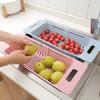 可伸缩调节水槽洗菜篮 16.9元