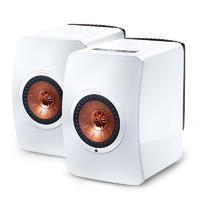 KEF LS50 Wireless 音箱 钢琴白