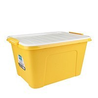 茶花58L大号收纳箱塑料特大收纳盒衣服玩具箱子家用整理箱储物箱