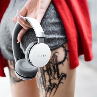 FIIL 斐耳 diva pro 无线头戴式蓝牙耳机 智能主动降噪 (32Ω、曜石黑)