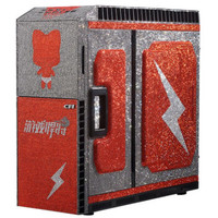 极U品 施华洛世奇 万颗钻石镶嵌 电脑主机(i9 9980XE、128GB 4266MHz、2TB 10TB、2080Ti、ROG水冷)