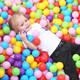 拥抱熊 儿童室内海洋球 5.5CM 50个