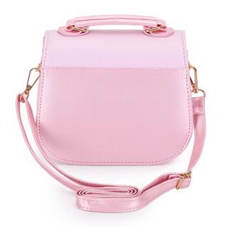Disney 迪士尼 KH1422 公主时尚斜挎手提包 粉色 大号