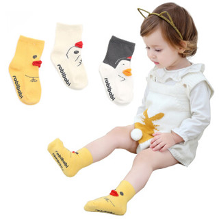 9i9久爱久婴儿袜子宝宝袜子点胶防滑卡通儿童袜6双装1800703