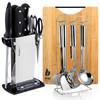 拜格BAYCO 刀具厨具套装套刀不锈钢菜刀勺铲砧板组合15件套CJTZ-938