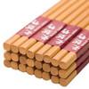 唐宗筷 竹雕刻 家用酒店用 天然竹筷子 碳化竹筷 不易发霉  餐具套装12双装 A155