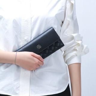 HONGU 红谷 女士多功能钱包手拿包H10503108 黑色