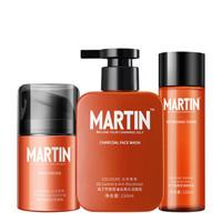 Martin 马丁 男士护肤三件套(爽肤水120ml 焕肤乳 洁面乳150ml)