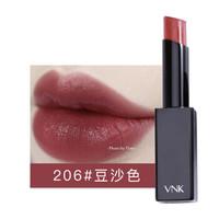 VNK 暗夜之吻口红 206#豆沙色 3.2g ( 保湿 不易脱色 唇膏 滋润)