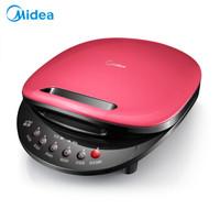 美的(Midea)电饼铛 家用双面悬浮加热蛋糕烙饼机 JCN30M 红色
