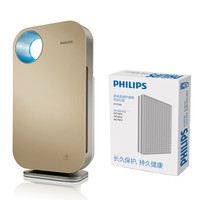 飞利浦(PHILIPS)空气净化器AC4076/01+原装滤网FY3107套装