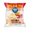 可比克 麻辣小龙虾味纯切薯片 办公室休闲膨化零食 70g (加量装) 1.4元