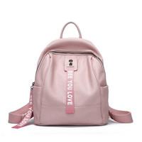 DOODOO 女 百搭式旅行背包双肩包 A8611 粉色