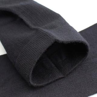 七匹狼袜子男短袜夏季薄款棉袜黑色男士商务绅士袜 深色均码 6双礼盒装91700