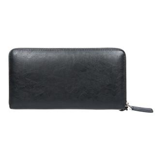 稻草人Mexican男式手包简约手抓包时尚牛皮手拿包钱包MYH40272M-01黑色