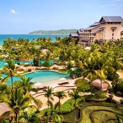 1500多㎡儿童玩乐区+400M的私属海滩!金茂三亚亚龙湾希尔顿大酒店1晚套餐