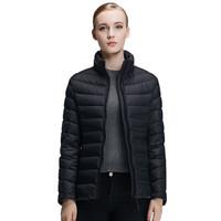 皮尔卡丹2016冬季女士羽绒服 23C3605 (黑色)