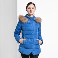 Hodo 红豆 2016冬季女士聚酯纤维羽绒服 HD-E629